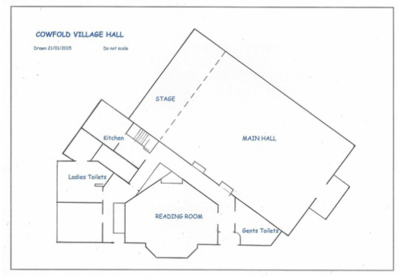Hall Floor Plan