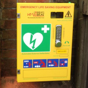 Defibrillator close up scaled